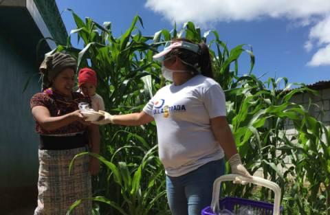 Consegna cibo Guate 2