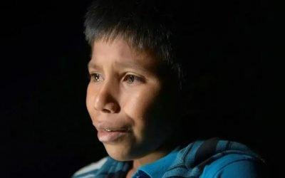 Bambini migranti dal Guatemala agli Stati Uniti